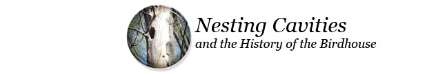The History of birdhouses and nesting cavities